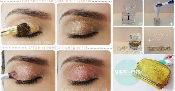 Diese fantastische DIY Make-up Hacks werden dich sicher überraschen