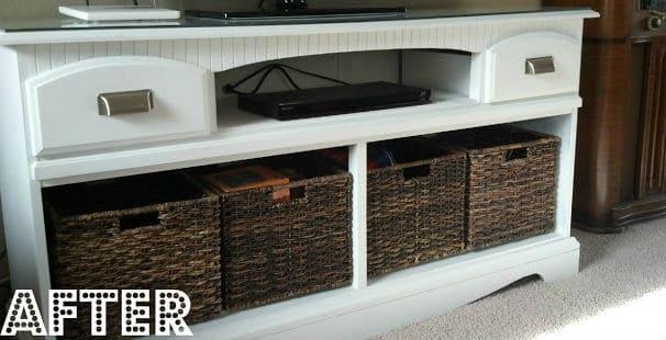 Alte Kommode renovieren-DIY Bastelidee mit Möbeln