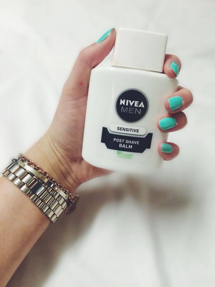 Nivea Post Shave Balm - Wundermittel für Frauen