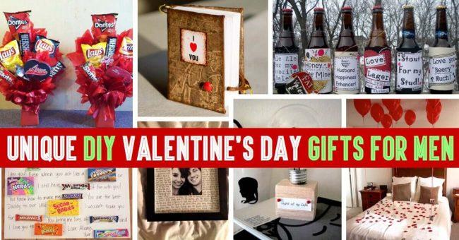 DIY Geschenkideen für Männer zu Valentinstag