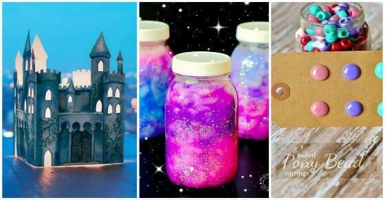 Tolle DIY Projekte für Kinder die auch die Erwachsene ausprobieren wollen