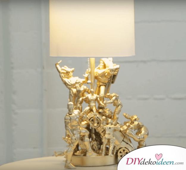 Lampe mit Superhelden Wohndeko-Idee