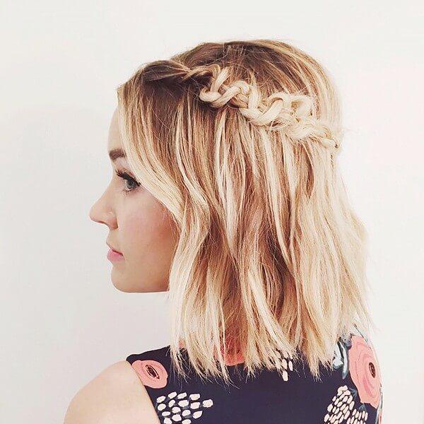 Haartrends für kurze Haare - Haartrend für den Sommer