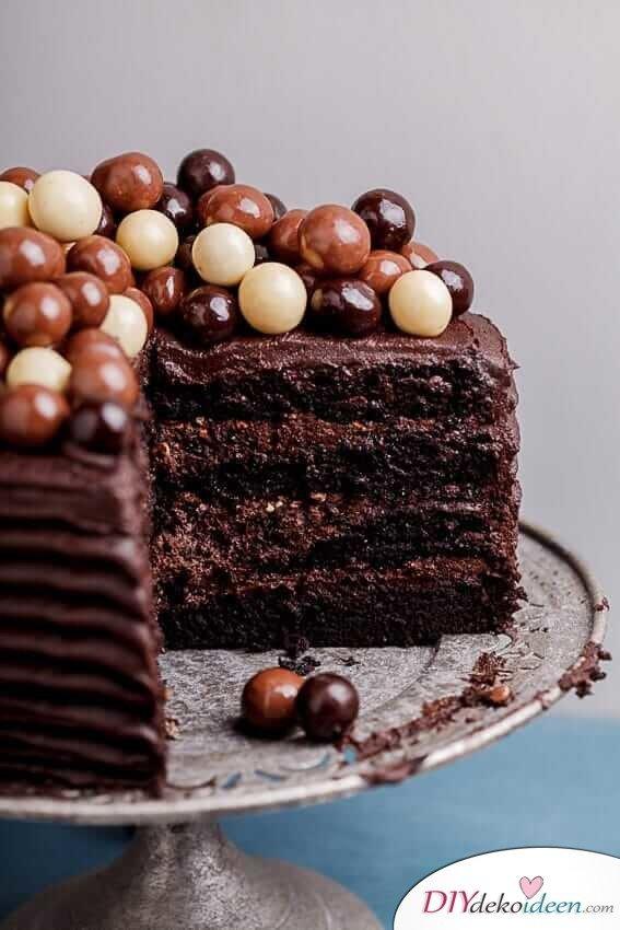Leckere Rezepte mit Schokolade und Kaffee - Torten Rezeptideen