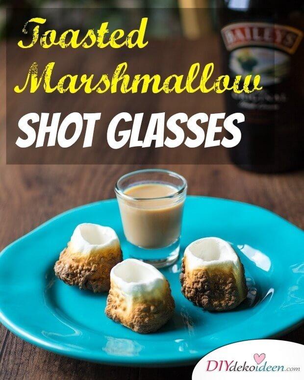 Marshmallow Snaps - Party Getränk selber machen