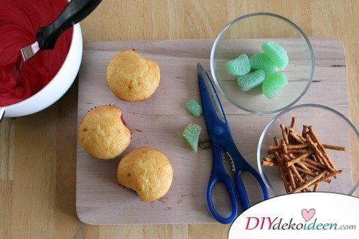 Leckere Rezepte - Apfelförmiger Muffin