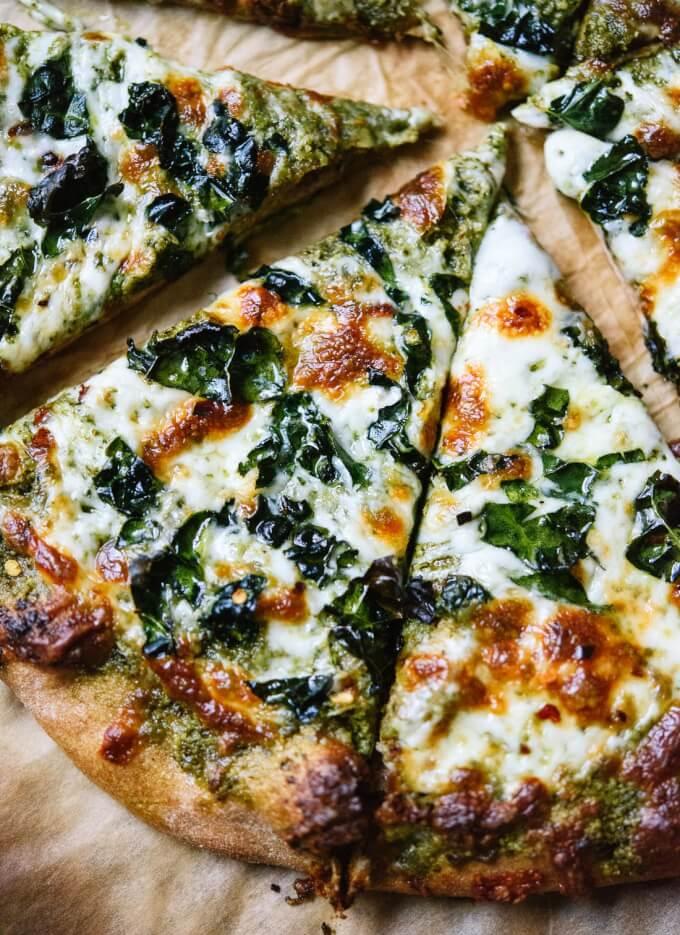 Pizza Rezeptideen - Vegetaische Ernährung
