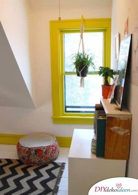 Fenster aufpeppen - geniale Deko Tipps für ein farbenfrohes Interieur