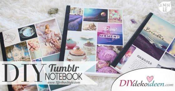 Einzigartige DIY Notizbücher die Schule und Arbeit verschönern können