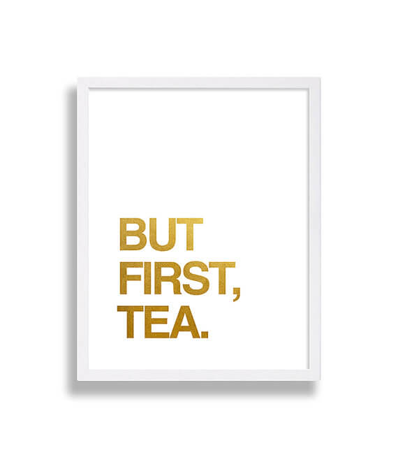Geschenkidee für Teeliebhaber - DIY Bild