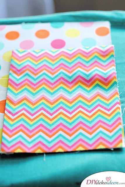 Tasche für Notizbücher an den Organizer nähen - Bastelideen für Frauen