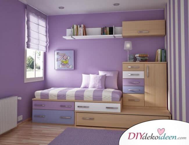 Schöne Wohnideen - kleine Schlafzimmer einrichten