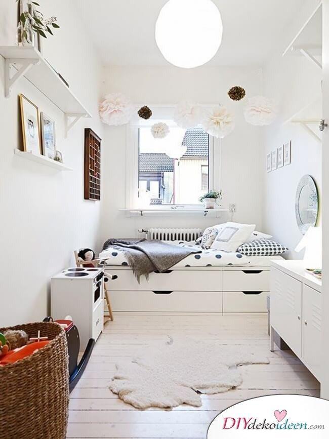 Kleines Zimmer geräumig gestalten - kreative Wohnideen
