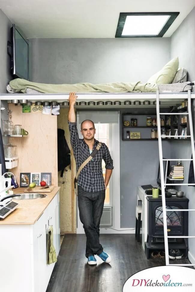DIY Einrichtungsideen für kleine Schlafzimmer