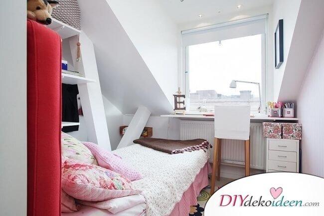 Dachgeschoss-Zimmer Einrichtungsideen