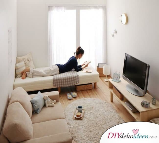 Kleine Zimmer einrichten - Schöne Wohnideen