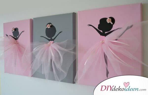 Ballerina Canvas - mehrere Farben kombinieren