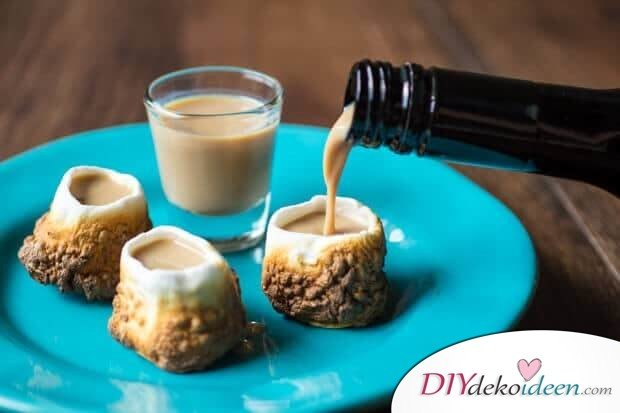 Getränkideen für Partys mit Marshmallows