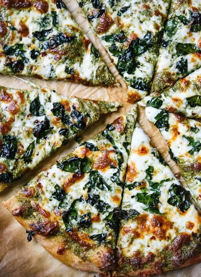 Vegetarische Pizza-Rezeptideen