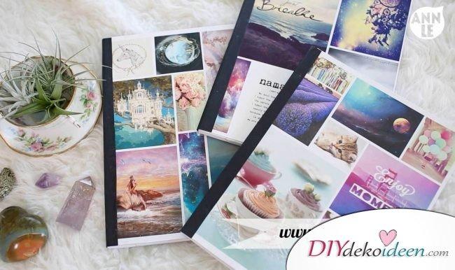 DIY Notizbuch - Geschenkideen für Freundinnen