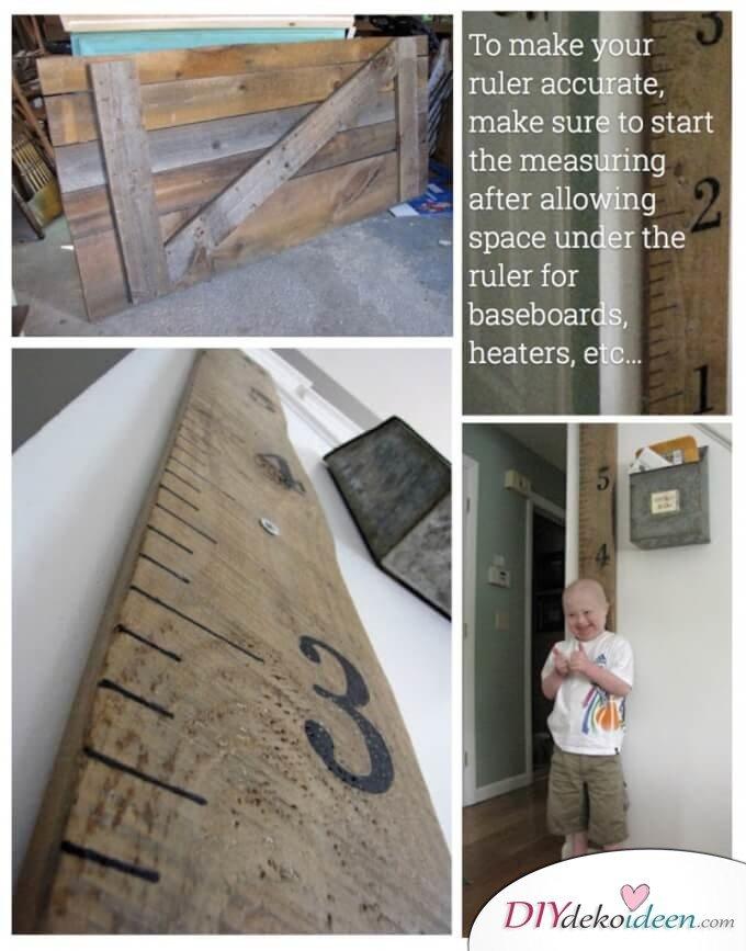 Rustikale Deko-Ideen selber machen-Holzdeko