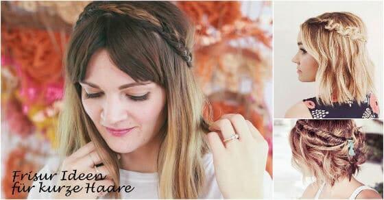Von klassisch bis modern - Frisur Ideen für kurze Haare