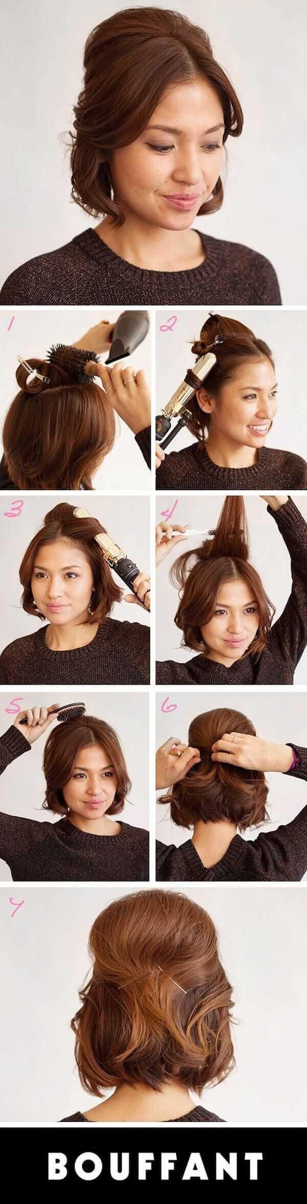 einfache Kurzhaarfrisur - Haartrend-Ideen