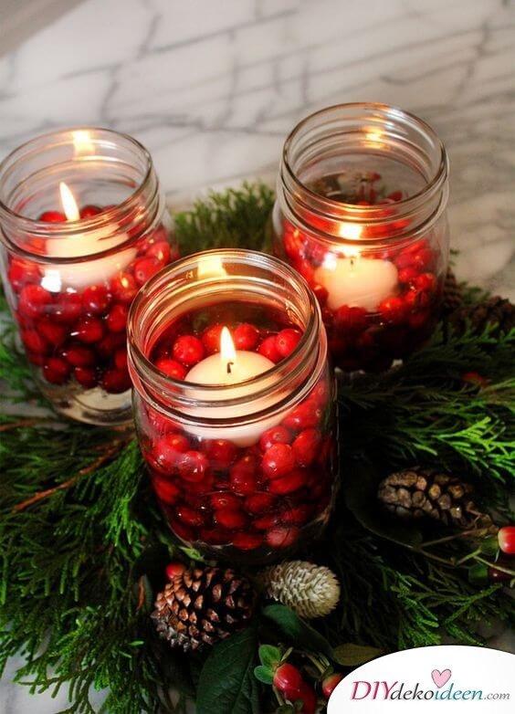 DIY Weihnachtsbeleuchtung