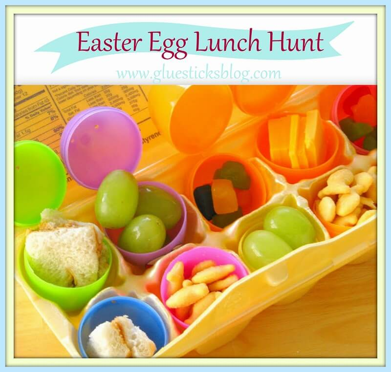 DIY Ideen mit Kindern zu Ostern- Osterei-Jagd zum Mittagessen