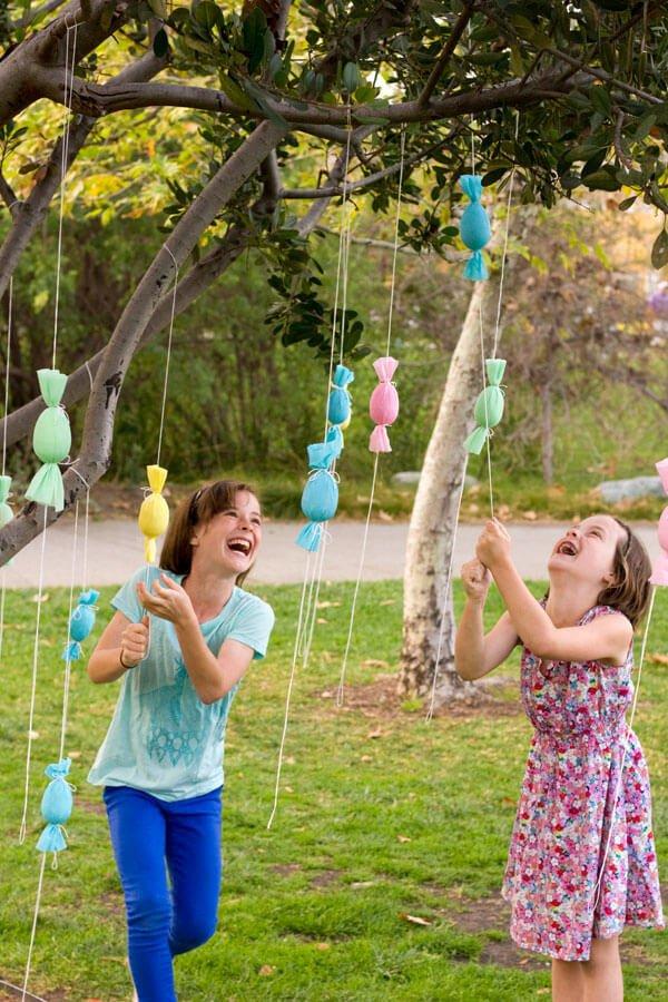 DIY Ideen mit Kindern zu Ostern- Osterbaum selber machen