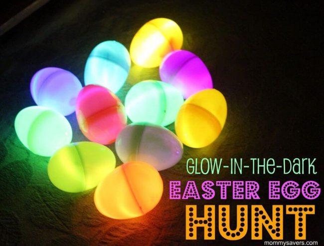 DIY Ideen mit Kindern zu Ostern- leuchtende Eier selber machen