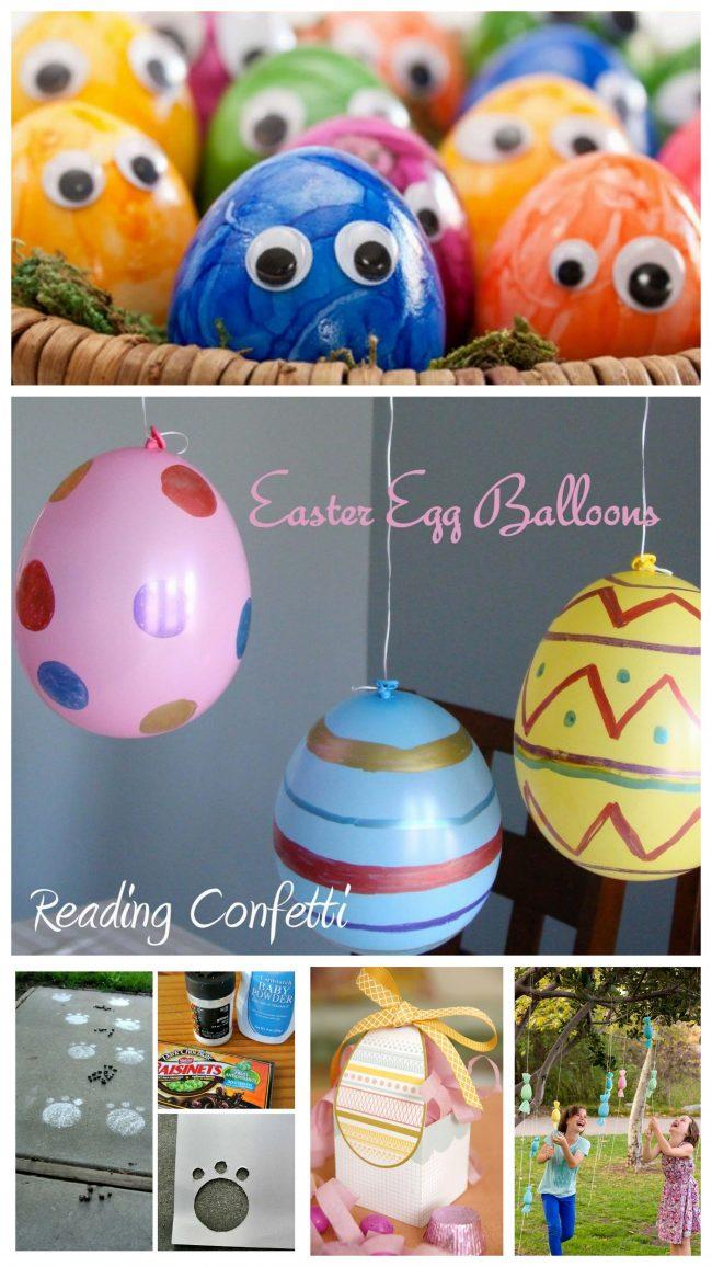 DIY Ideen mit Kindern zu Ostern - Ostereier basteln