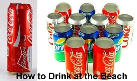 Getränkedosen kreativ nutzen