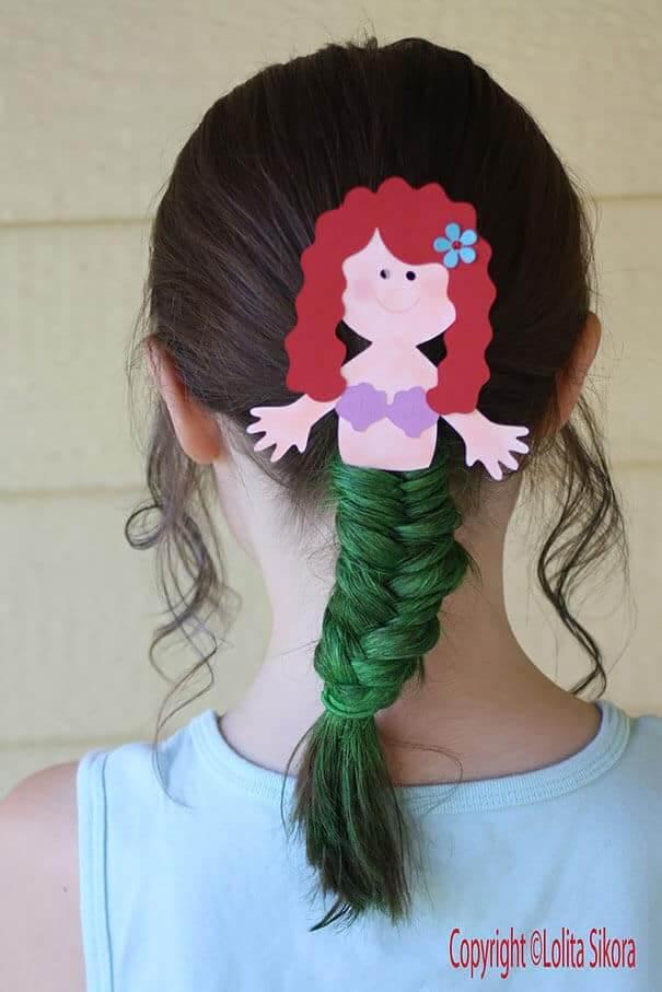 Ariel Zopf - kreative Frisuren für Mädchen