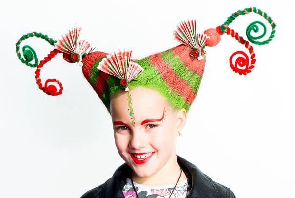 Verrückte Frisuren selber machen - lustige Haartrends