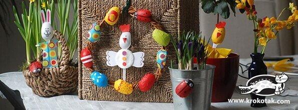 Leichte Bastelprojekte für Kinder zu Ostern
