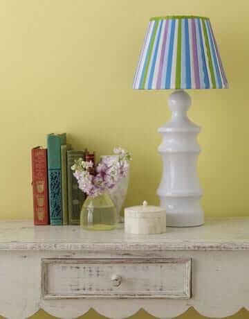 Lampenschirm Design selber gestalten - DIY Lampen-Deko