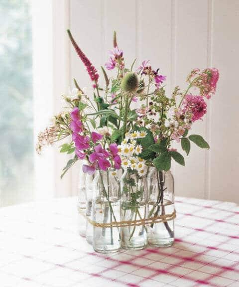 Vasen-Dekoideen - Tischdeko gestalten