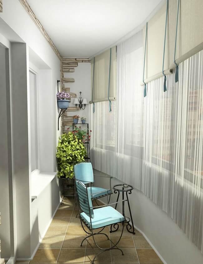 kreative Deko-Ideen für kleine Balkons
