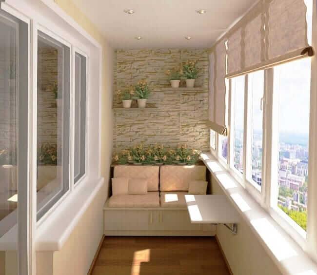 Einrichtungtipps wenn der Balkon zu klein ist