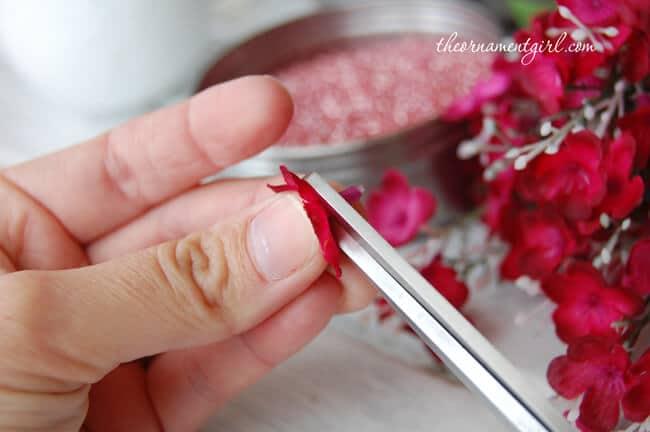 blumige Dekoration für Hochzeiten - Frühlingsdeko