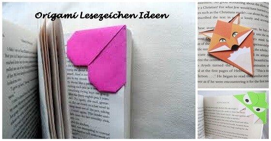 origami lesezeichen selber machen mit diesem trick geht es im nu. Black Bedroom Furniture Sets. Home Design Ideas