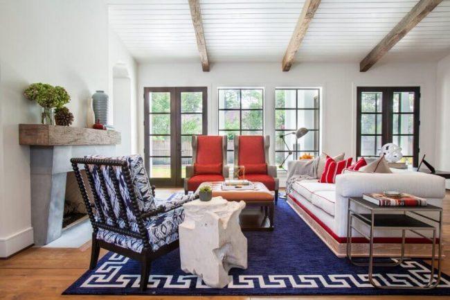 Wohnzimmermöbel-Ideen - Einrichtungsideen mit niedrigem Budget