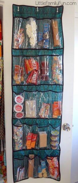 Snacks organisieren - Küchendeko Tipps