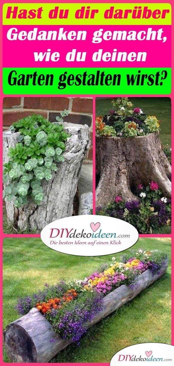 Hast du dir darüber Gedanken gemacht, wie du deinen Garten gestalten wirst?