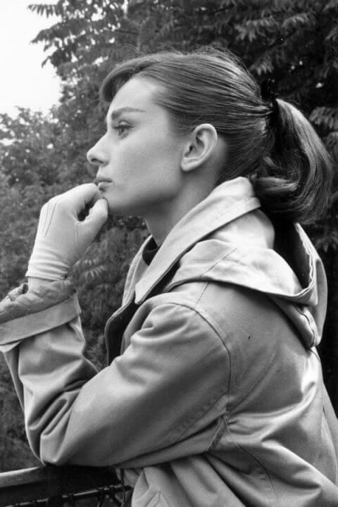 soft sweep von Audrey Hepburn - Hairstyle