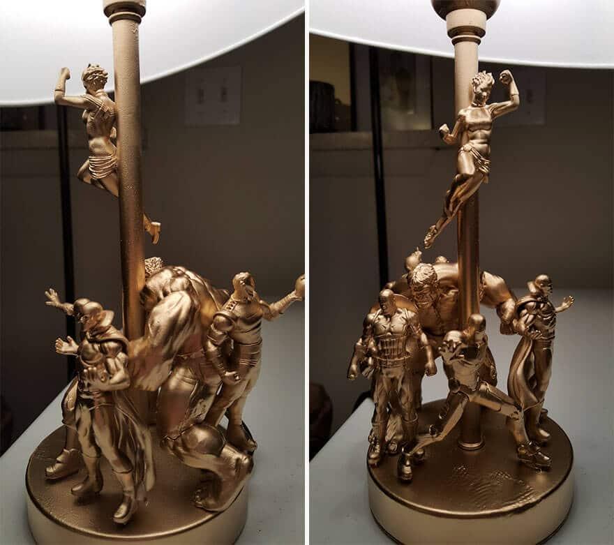 kreative Lampe selber machen