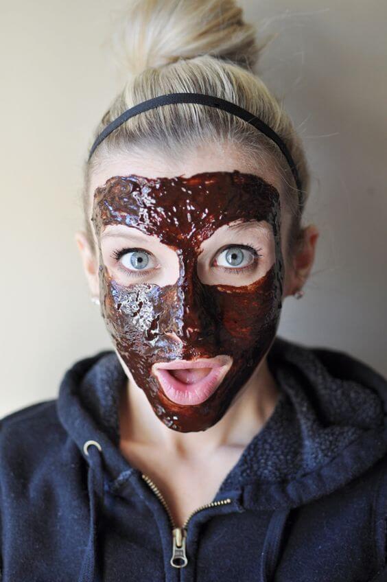 Kako-Kefir DIY Gesichtsmaske gegen trockene Haut