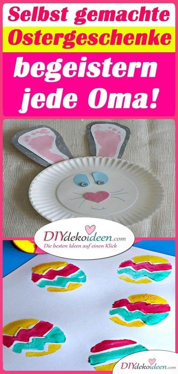 Selbst gemachte Ostergeschenke begeistern jede Oma!