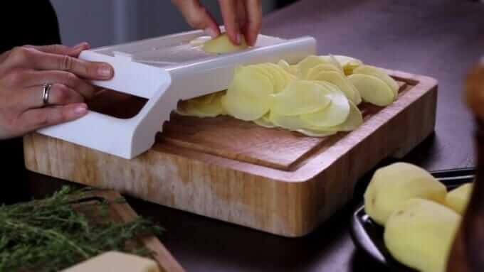Kartoffeln schneiden - leckere Rezepte
